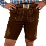 Bavarian Leather Short Pants
