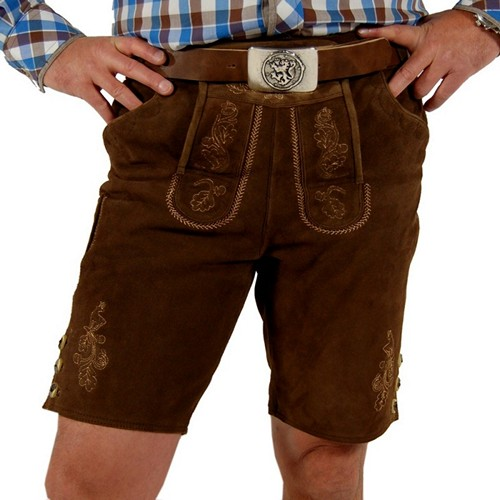 Bavarian Leather Short Pants
