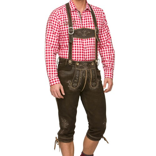 Bavarian Leather Trousers
