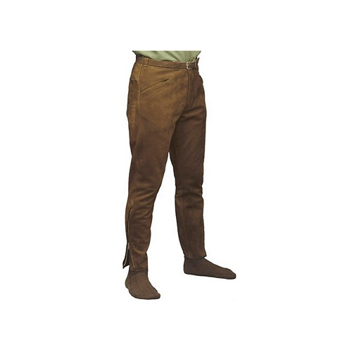 Bavarian Long Leather Pants - Fashion Impex