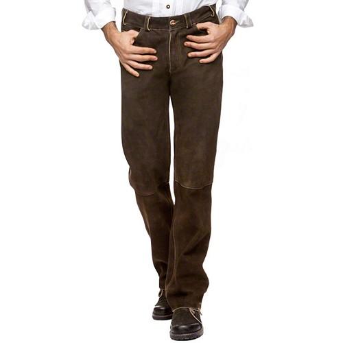 Bavarian Long Leather Pants