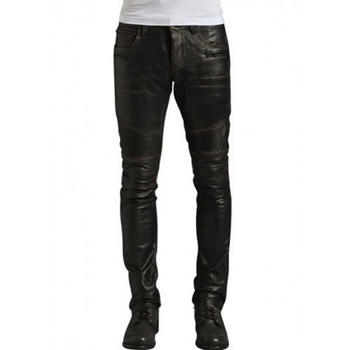 Leather Men Pants